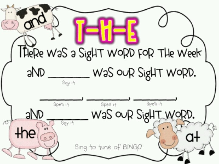 Pinterest  for  word Sight song Class song sight  My word Ideas and