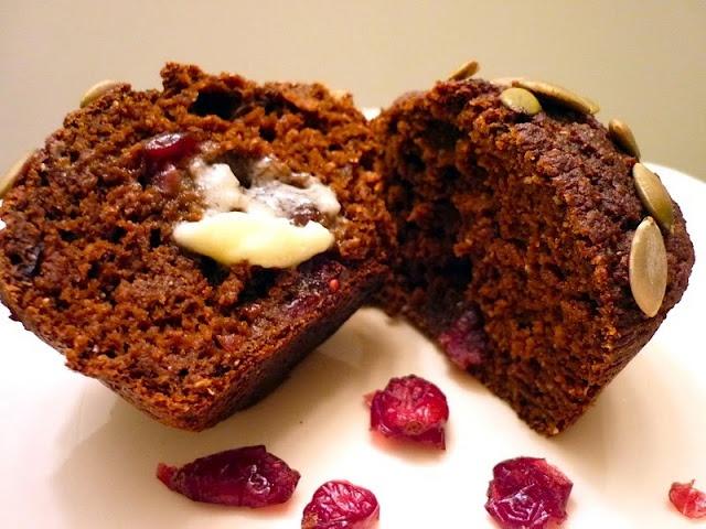 Pumpkin Cranberry Bran Muffins | Recipes - Breakfast | Pinterest