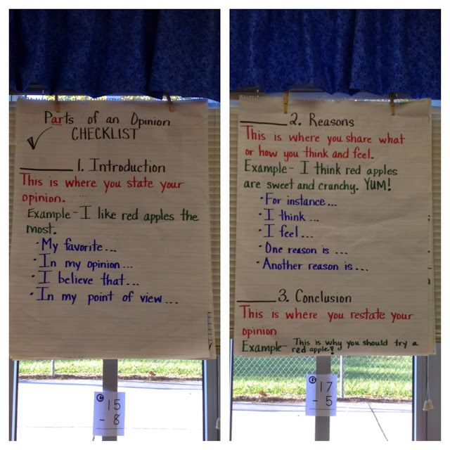 first grade writing assignments