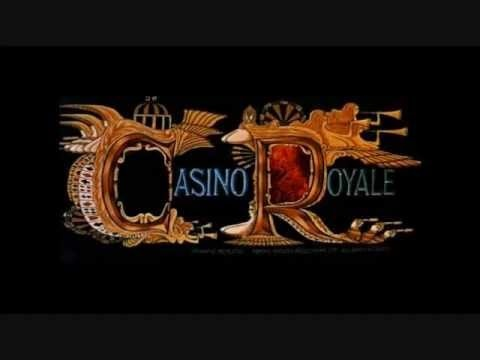 Casino royale theme song sung cardroom associated with casino