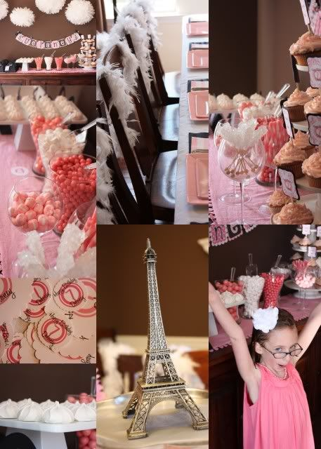 Parisian Candy Party