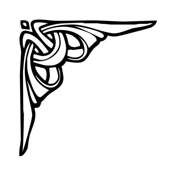 Art Deco Line Design : Art deco motifs patterns pinterest