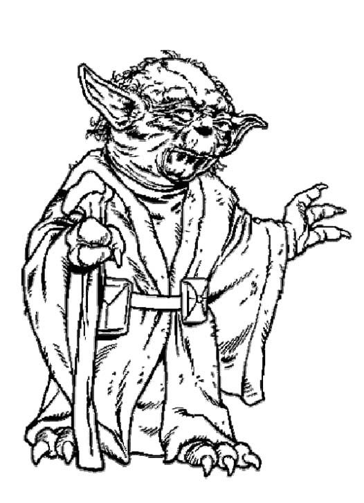 Yoda coloring pages coloring pages for Yoda coloring pages