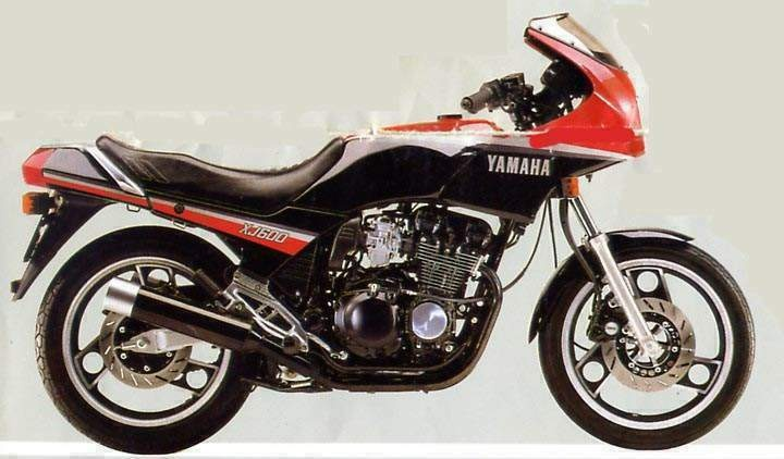 1984 Yamaha XJ 600 on 423 html