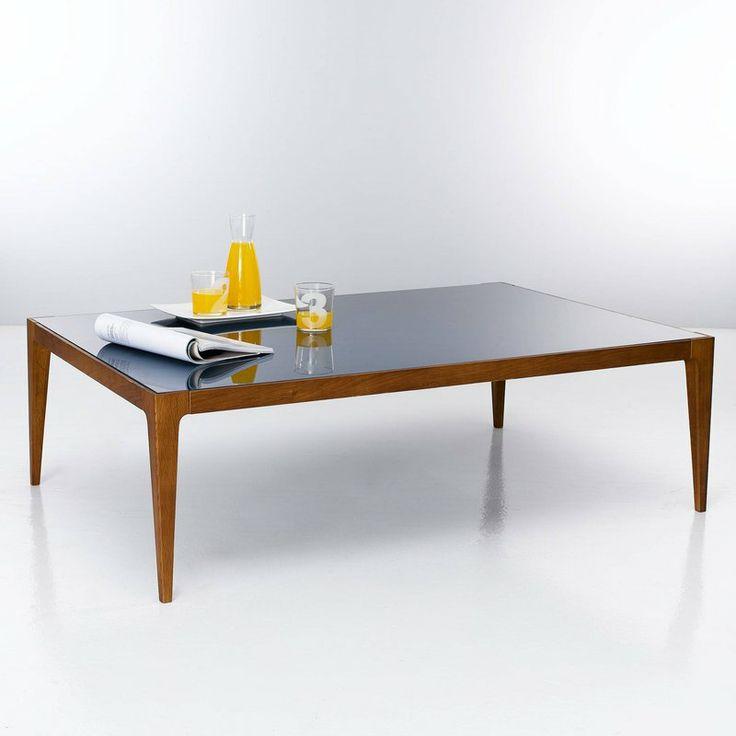 table basse verre color r tro. Black Bedroom Furniture Sets. Home Design Ideas