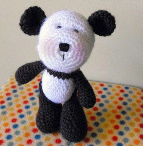 Amigurumi Panda Bear Pattern : PANDA CROCHET PATTERN AMIGURUMI CROCHET