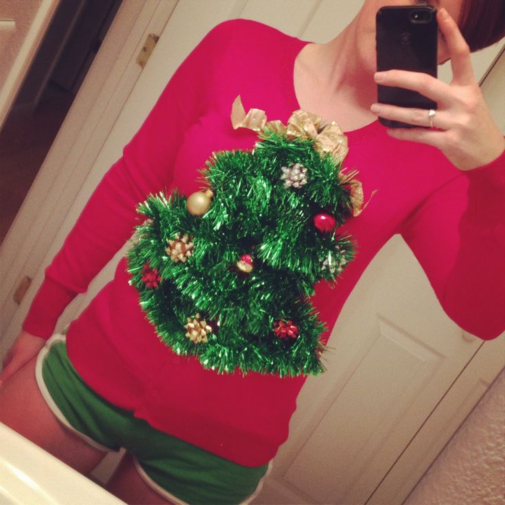 DIY ugly Christmas sweater | Party Ideas | Pinterest