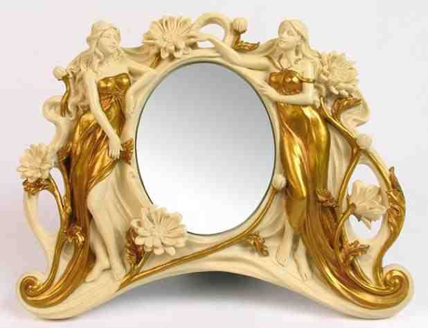 Gorgeous mirror photo bing images the looking glass for Floor mirror italian baroque rococo style in lacquer finish