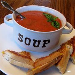 Rachel's Tomato Basil Soup Allrecipes.com