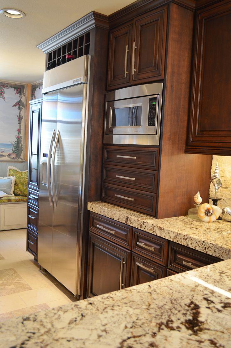 Custom galley kitchen storage ideas custom finish repin for Custom kitchen designs ideas