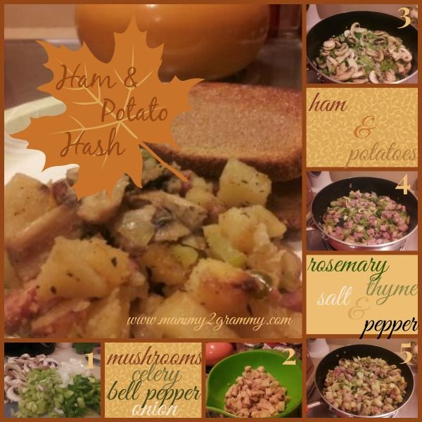 Ham and Potato Hash | Recipes - Breakfast, Brunch and Lunch Time | Pi ...