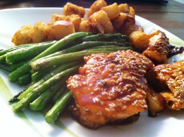 Sesame Soy Glazed Salmon | Dinner/Lunch | Pinterest