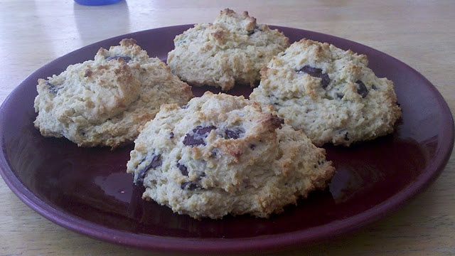 Gluten-Free Chocolate Chip Scones | Gluten free | Pinterest
