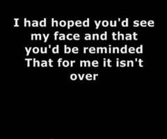 Someone like you adele song lyrics