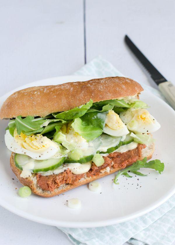 lunch recepten met ei