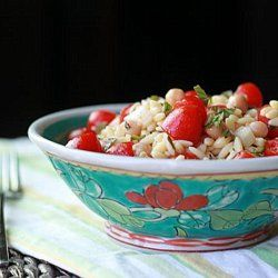 Orzo Salad with Chickpeas & Cherry Tomatoes | Recipe
