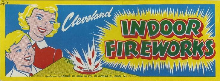 Cleveland Indoor fireworks, London