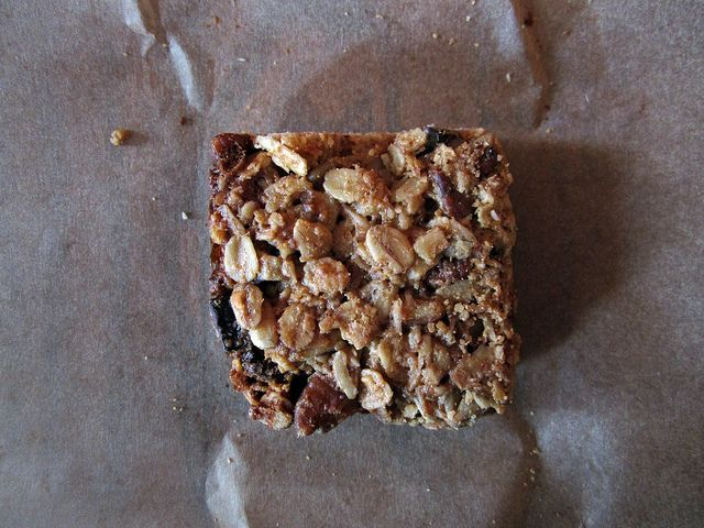 Thick and Chewy Granola Bars   Brownies & Bars   Pinterest