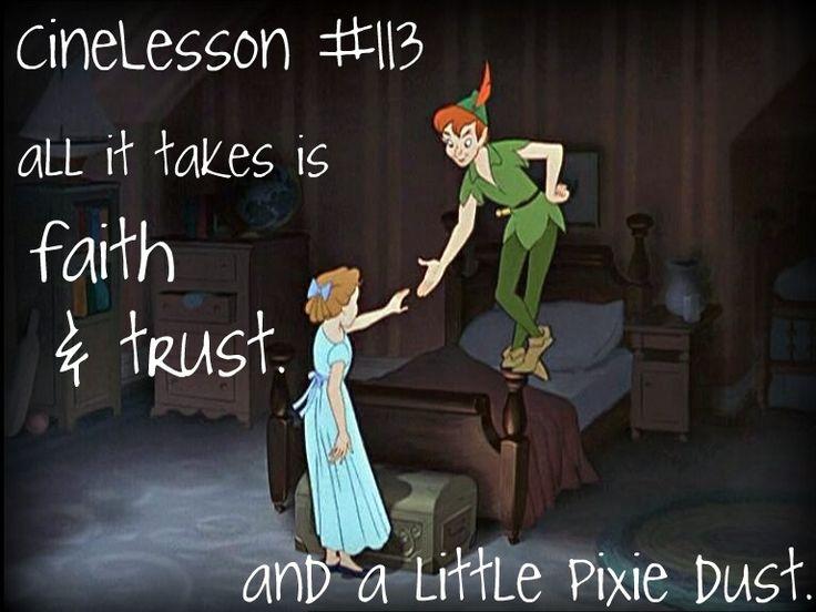 I still love Peter Pan.