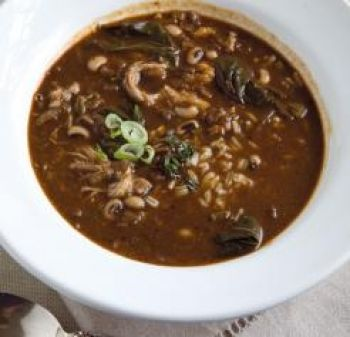 dip black eyed pea gumbo the skinny fork black eyed pea gumbo karrie ...