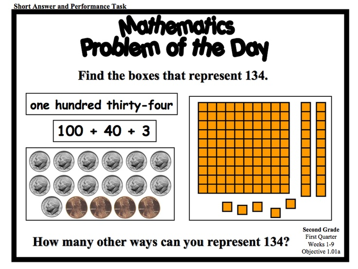 Buy Math Problems For 2nd Grade