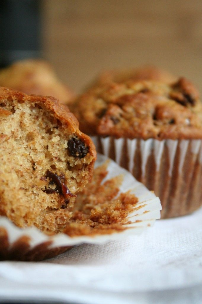 Orange Raisin Breakfast Muffins   Food   Pinterest
