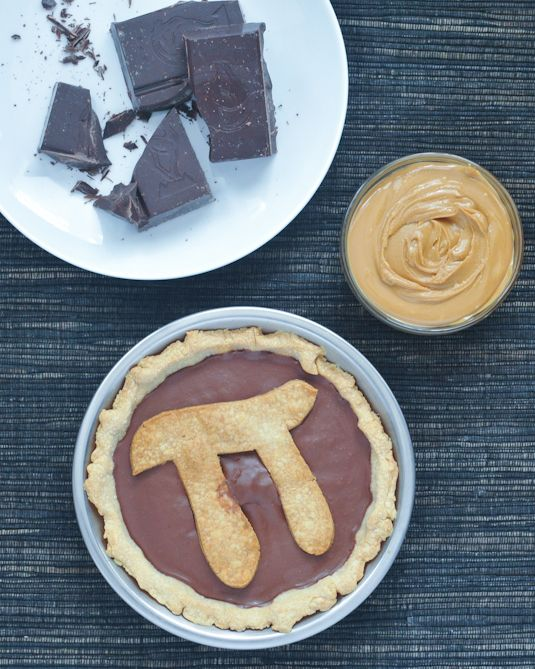 chocolate peanut butter truffle pie (dairy-free, gluten-free, vegan)