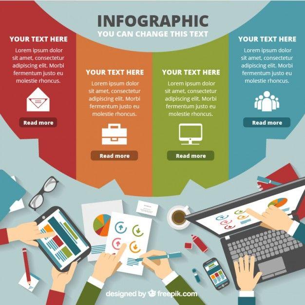 Best 65 Free Infographic Vector Templates  DesignMaz