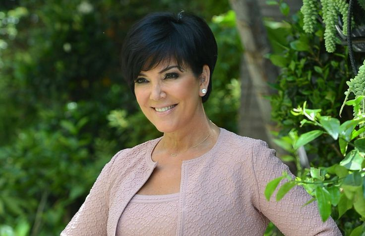 Kris Jenner Hairstyle Back View