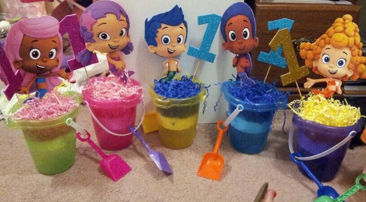 Bubble guppies party supplies bubble guppies centerpiece choose 2 hot girls wallpaper - Bubble guppies center pieces ...