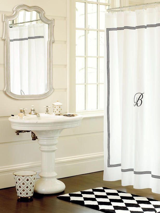 Pedestal sinks look cool in a bathroom, but can you deal with the lack of storage space? #hgtvmagazine http://www.hgtv.com/decorating-basics/12-decorating-decisions/pictures/page-11.html?soc=pinterest