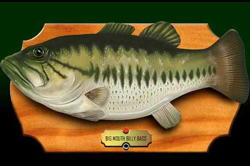 Big mouth billy bass there 39 s a party goin 39 on down in for Billy bass fish