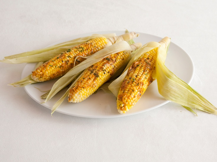 Corn on the Cob with Chile-Mint Butter from FoodNetwork.com