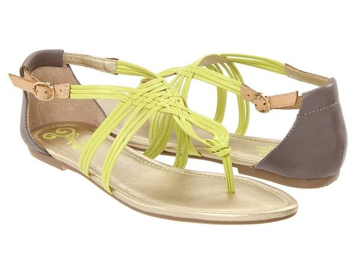 Cole Shoes Seychelles Coy - Lime Multi $45