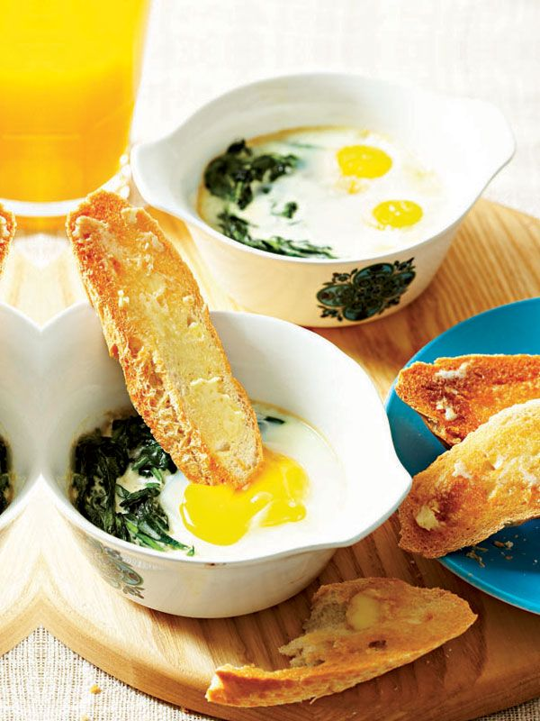 ... creamed spinach creamed spinach creamed spinach with baked eggs recipe
