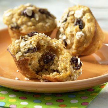 Raisin-Oatmeal-Cookie-Muffins   Homemade Muffins   Pinterest