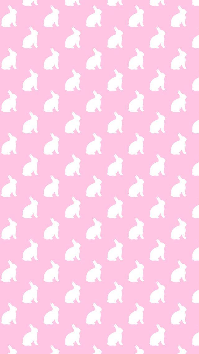 Bunny Wallpaper Pattern Tumblr