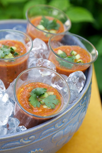 Grilled Gazpacho Recipe | soups | Pinterest