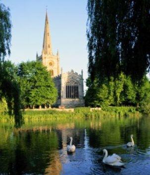 C A B Stratford Upon Avon Holy Trinity Church Stratford-Upon-Avon | Postcards From The UK | Pi ...
