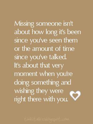 Missing someone...