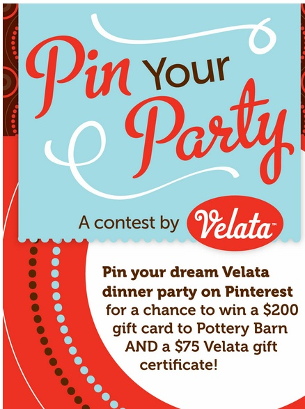 Pin your dream party with velata to win prizes fun contest