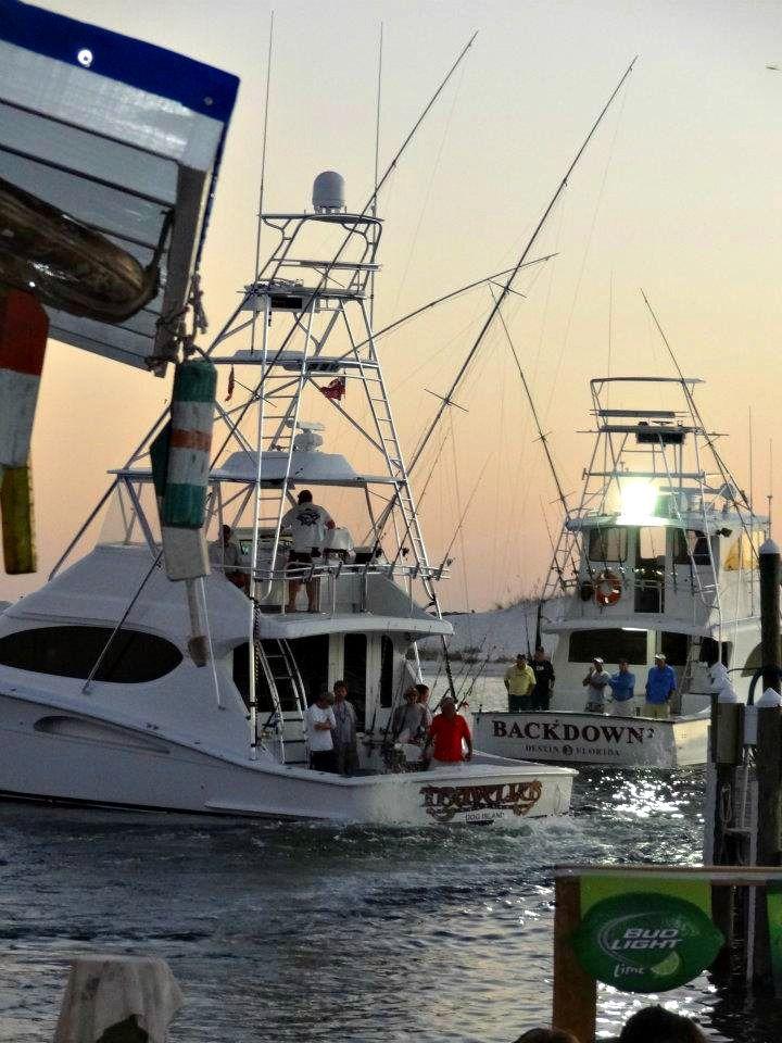 Destin fishing charter boats something fishy pinterest for Destin fishing charters
