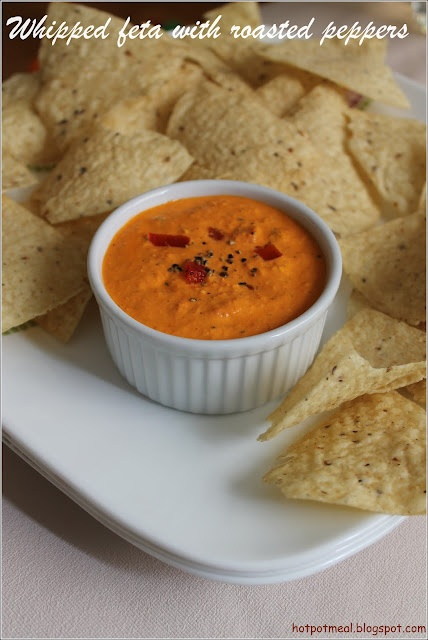 Whipped Feta and Red Pepper Dip | Dips and Apps | Pinterest