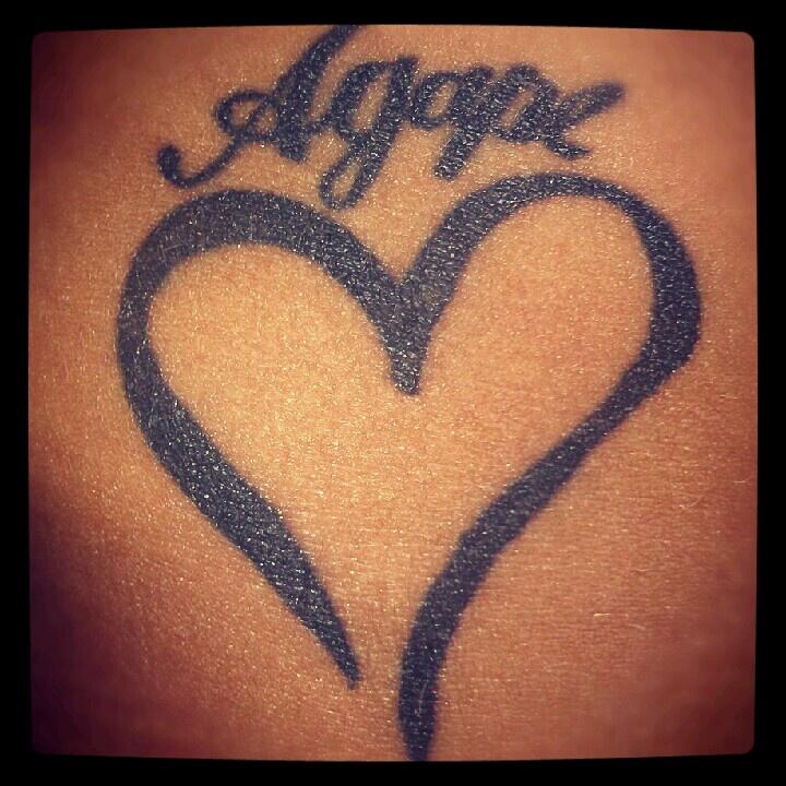 unconditional loveUnconditional Love Tattoo