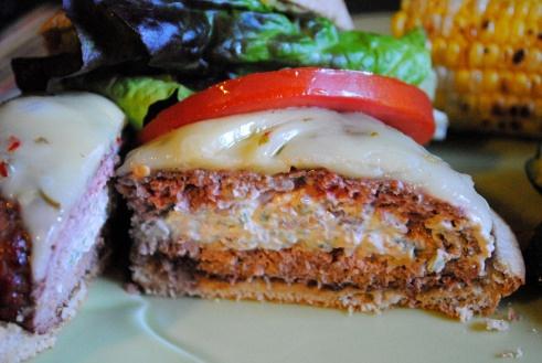 Jalapeno Popper Burgers   Burgers   Pinterest
