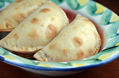 Empanadas Filled with Chicken Picadillo — Punchfork