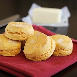 Sweet Potato Biscuits. I made 1.5 of the recipe and used apple butter ...
