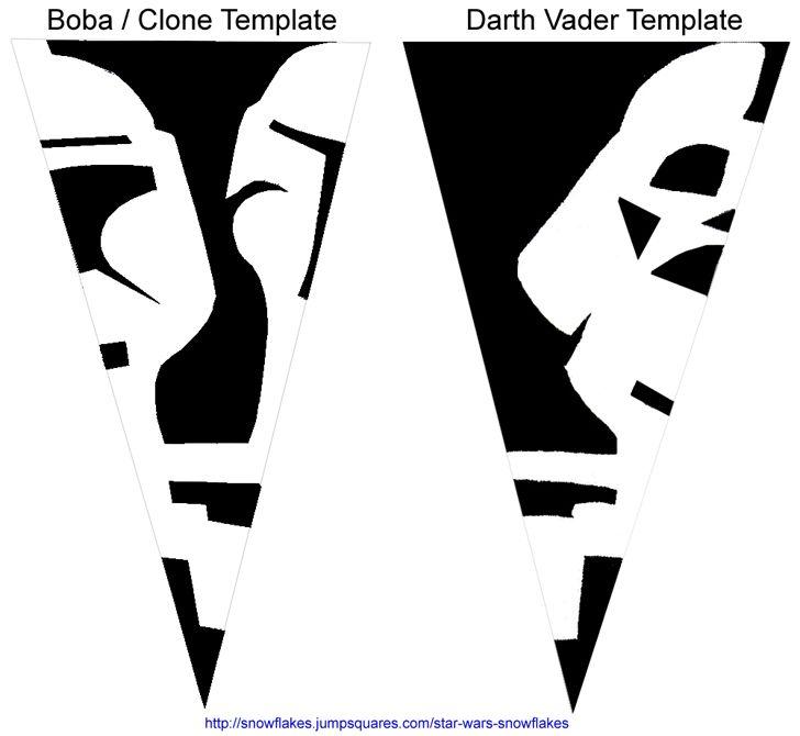 Star Wars Snowflakes!!  :D