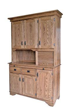 Mission hutch oak wood pinterest