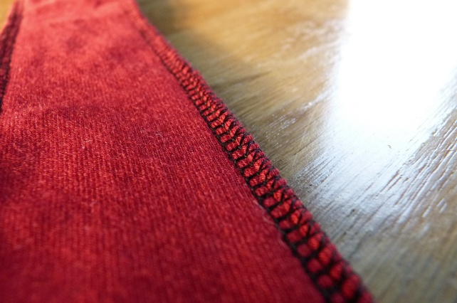 serger projects for beginners